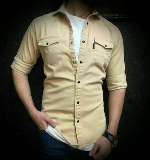 پیراهن کتان کاغذی