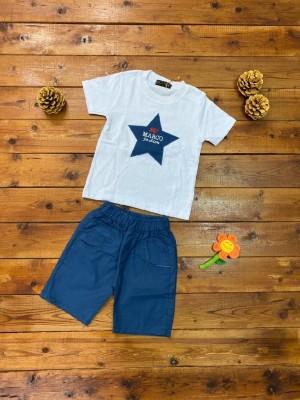تیشرت و شلوارک کتان ستاره-تصویر 2