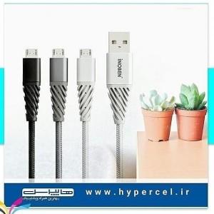 کابل تبدیل USB به Micro USB-C آینوبن مدل Braided-تصویر 2