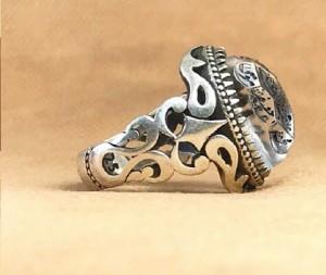 انگشتر در نجف اصلی حکاکی ۱۴معصوم-تصویر 3