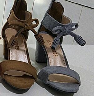 کفش وفش جلوپاپیونی پاشنه دار-تصویر 3