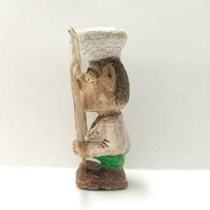 مجسمه چوبی یا آدمک چوبی طرح آشپز یا سرآشپز در رستوران , chef , food-تصویر 4