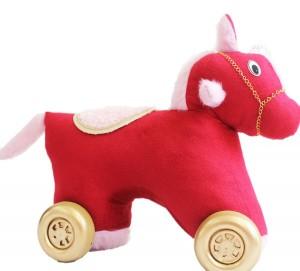 واکرچهارچرخه کودک اسب تکشاخ(باموزیک شیهه وچهار نعل اسب باچراغ چشمک زن)-تصویر 4