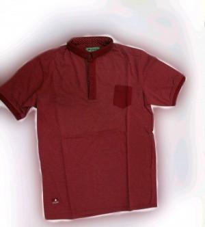 تیشرت تک رنگ استین کوتاه-تصویر 2