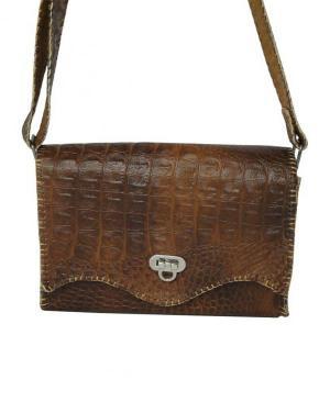 کیف دستی زنانه چرم طبیعی برند گل مریم-تصویر 2