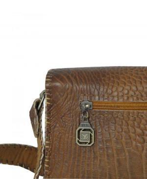 کیف دستی زنانه چرم طبیعی برند گل مریم-تصویر 5