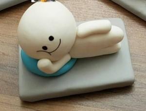 عروسک خمیری بچه