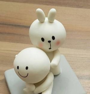 عروسک خمیری خرگوش وبچه