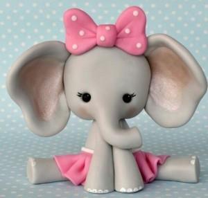 عروسک خمیری فیل
