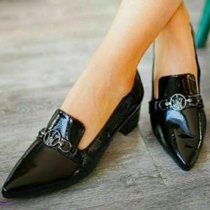 کفش چرم شیک-تصویر 2