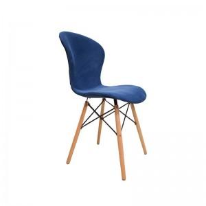 صندلی رستورانی پایه چوبی ایفلی تمام تشک ماهور-تصویر 3