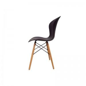 صندلی رستورانی پایه چوبی ایفلی بدون تشک ماهور-تصویر 2