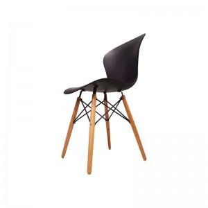 صندلی رستورانی پایه چوبی ایفلی بدون تشک ماهور-تصویر 3