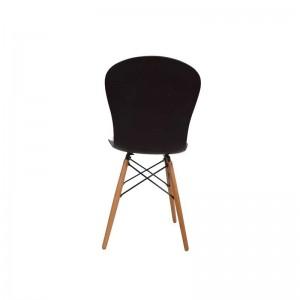 صندلی رستورانی پایه چوبی ایفلی بدون تشک ماهور-تصویر 4