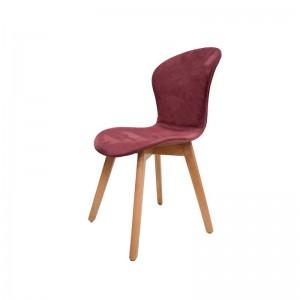 صندلی رستورانی پایه چوبی تمام تشک ماهور-تصویر 2