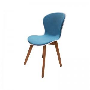 صندلی رستورانی پایه چوبی نیمه تشک ماهور-تصویر 3
