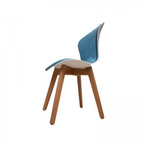 صندلی رستورانی پایه چوبی نیمه تشک ماهور-تصویر 4
