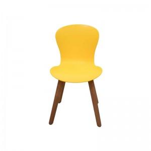 صندلی رستورانی پایه چوبی بدون تشک ماهور
