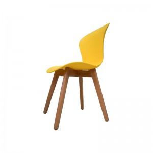 صندلی رستورانی پایه چوبی بدون تشک ماهور-تصویر 2
