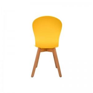 صندلی رستورانی پایه چوبی بدون تشک ماهور-تصویر 4