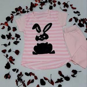 تیشرت شلوارک خرگوش-تصویر 4