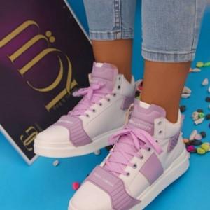 کفش کتونی ساقدار دخترونه-تصویر 3
