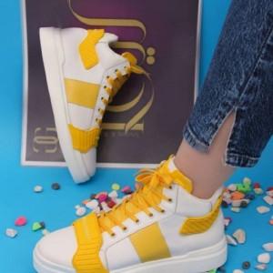 کفش کتونی ساقدار دخترونه-تصویر 4