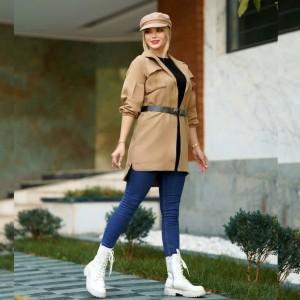 مانتو زنانه سوییت پاییزه مدل رها