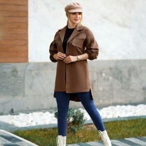 مانتو زنانه سوییت پاییزه مدل رها-تصویر 3