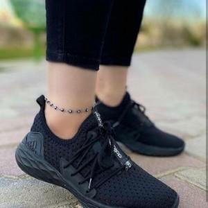کفش کتونی دخترونه بافتی-تصویر 5