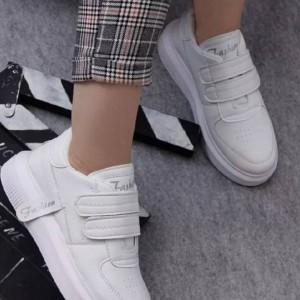 کفش کتونی دو چسب زنانه فشیون-تصویر 2
