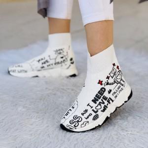 کفش کتونی بافتی ساقدار وای فای-تصویر 2