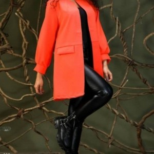 مانتو زنانه کرپ مدل پاییزه-تصویر 3