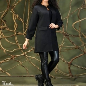 مانتو زنانه کرپ مدل پاییزه