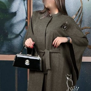 مانتو زنانه نخی گلد شاپ مدل تلما-تصویر 4