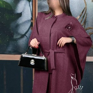 مانتو زنانه نخی گلد شاپ مدل تلما-تصویر 3