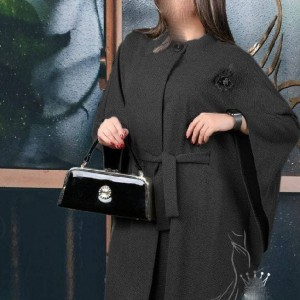 مانتو زنانه نخی گلد شاپ مدل تلما-تصویر 2