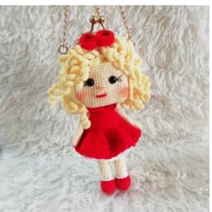 کیف عروسکی موطلایی