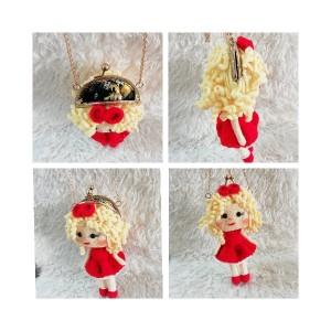 کیف عروسکی موطلایی-تصویر 2