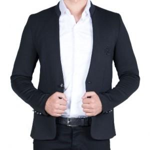 کت تک یقه دیپلمات مردانه