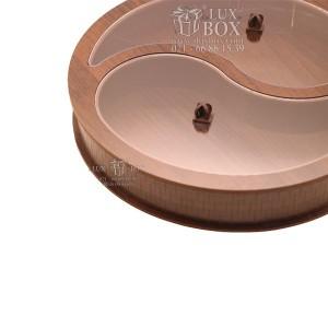 جعبه چوبی جعبه پذیرایی جعبه آجیل و دمنوش لوکس باکس کد LB36-11-تصویر 4