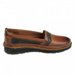 کفش مدل آنیل عسلی قهوه ای-تصویر 4