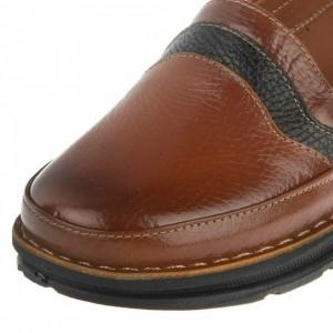 کفش مدل آنیل عسلی قهوه ای-تصویر 5
