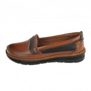 کفش مدل آنیل عسلی قهوه ای-تصویر 3