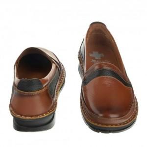 کفش مدل آنیل عسلی قهوه ای-تصویر 2