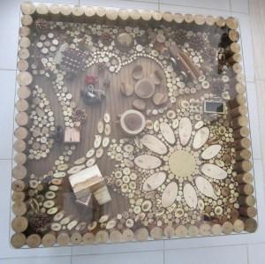 میز مبل طبیعت 2