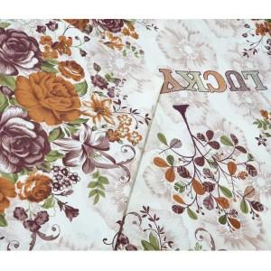 پارچه ملحفه مدل گلدار عرض ۲.۴۰متر