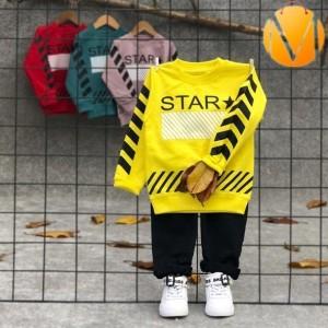 بلوز شلوار ستاره STAR