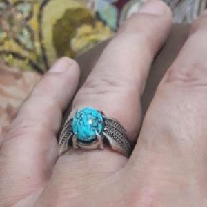 انگشتر فیروزه نیشابور شجری-تصویر 3