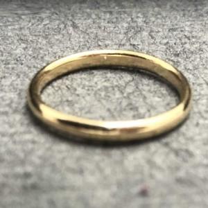 حلقه رینگی طلا ساده-تصویر 2